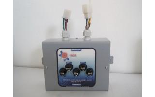 Sistema de protección para módulos inteligentes de buses articulados METROPLUS (MODASA-EQUITEL)