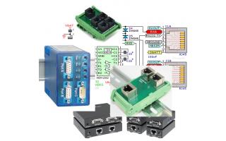 Splitter RS-232. Dos entradas, una salida INTERCONEXIÓN ELÉCTRICA