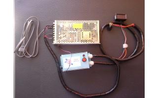 Variador de velocidad para motor DC de 24VDC SERVIBARRAS